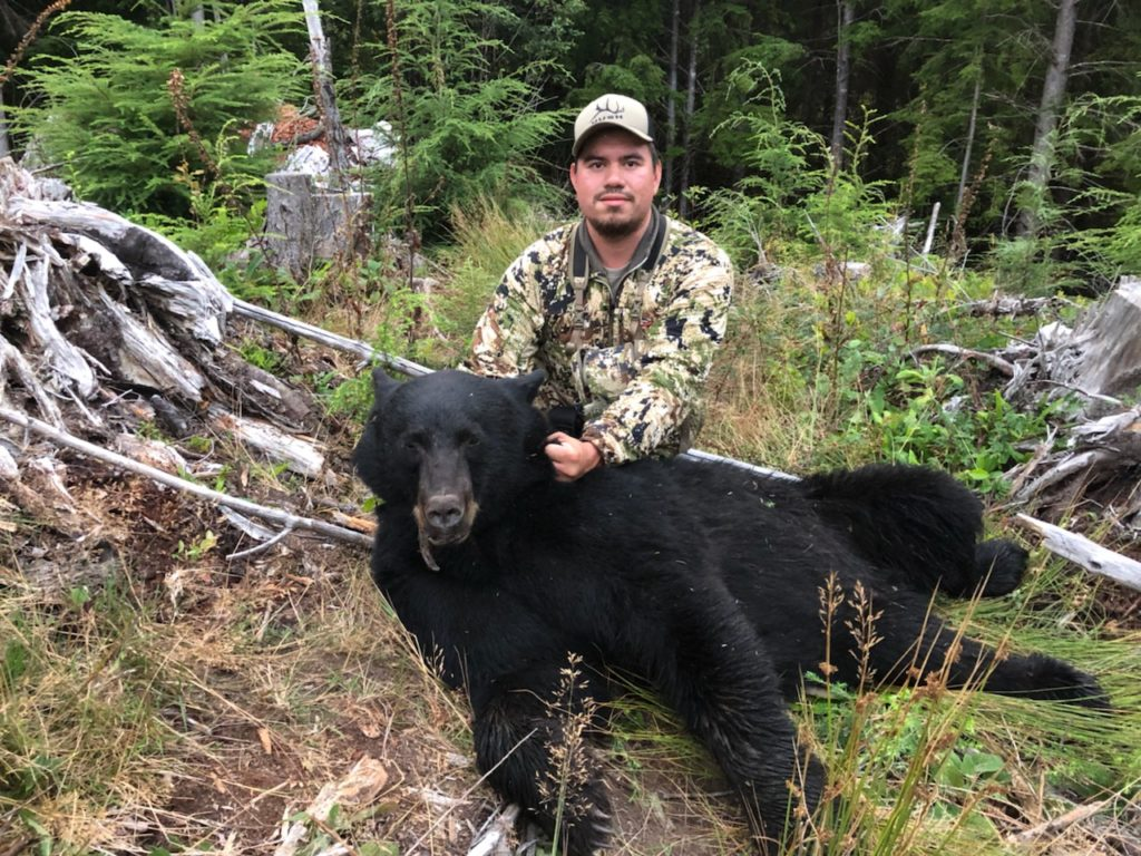 Chris with a nice bear
